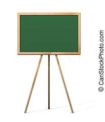 Chalkboard - iso 1 - 3D rendered Chalkboard. Retro Style....