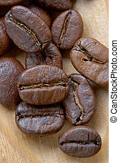 Coffee grains - Perfect grains of magnificent invigorating...