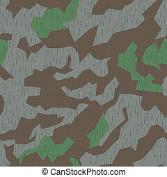 WW2 Camo, seamless - Seamlessly tileable German WW2 splinter...