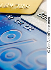 Credit card background - Credit card-financial background