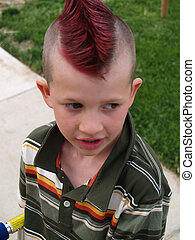 punk - cute kid