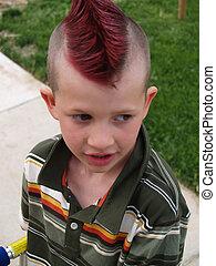 punk - cute kid