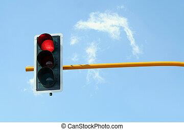 Traffic light  - Red Traffic light
