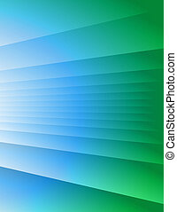 Abstract Background - Blue-Green - Blue-green fractals....