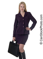 Blonde business woman - Attractive blonde Business woman...