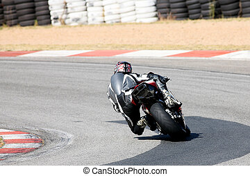 Superbike #1 - High speed Superbike on the circuit –...