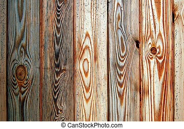 Sauna wall - Wooden wall