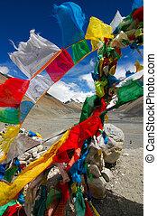 Prayer Flags at Everest Base Camp 1