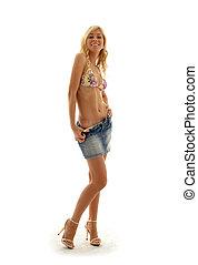 denim skirt #2