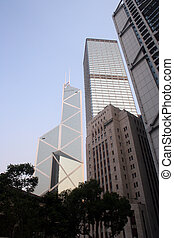 Bank of China - Hong - The Bank of China in Honk Kongs...