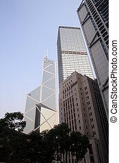 Bank of China - Hong - The Bank of China in Honk Kongs...