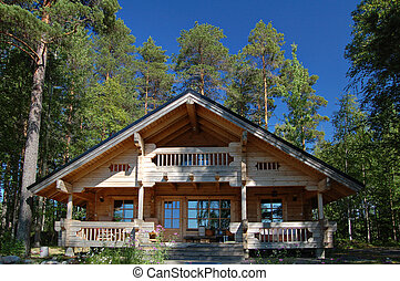Wooden cottage - Finnish summer cottage