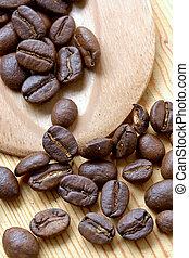 café, granos