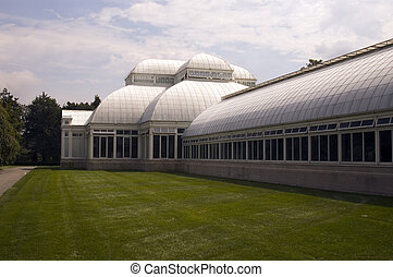 conservatory green house  - classic conservatory green house