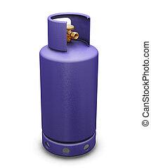 Butane gas - 3D render of a butane gas bottle