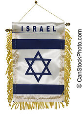 Israel Flag - Photo of an Israeli Flag