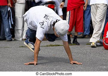 street dancer - urban dance contest