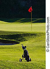 golf, sac