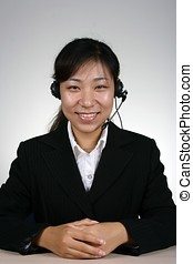 Support Person - Asian female support person