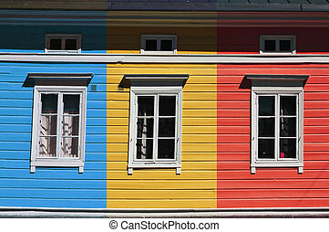 Colorful house - A Finnish house in Turku