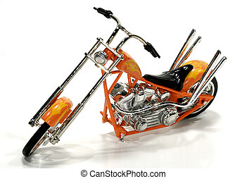 Chopper - Photo of a Toy Motorcycle