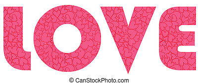 love sign - Love sign draw with pen and ink markers