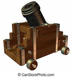 Mortar - 3D Render