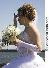 Bride portrait V - Beautiful bride portrait