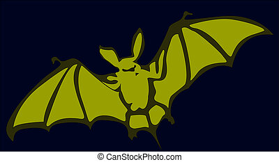 Bat - Flying bat