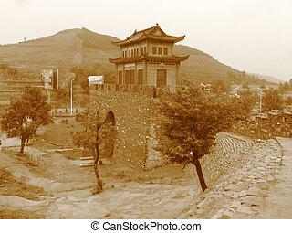 Chinese Pagoda in Laiwo, China