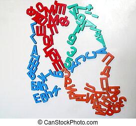 ABC2 - Colour russian letters 2