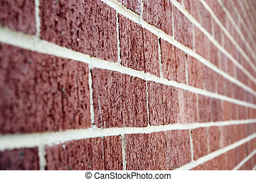 The Wall - a red brick wall