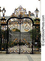 decorative gateway