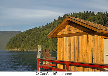 Cabine stock photo images 413 cabine royalty free for Cabine vicino a vancouver