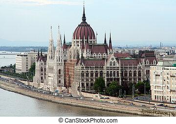 Budapest parliament - View of Budapest parliament