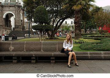 quito. ecuador - the presidential place. quito. ecuador