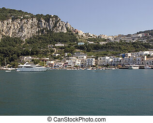 capri - bay of capri