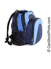Backpack - Back To School New Backpack, Isolated