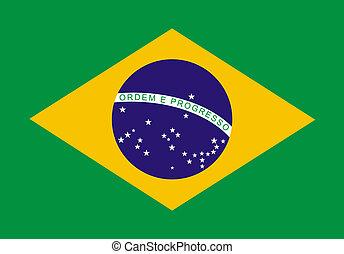 ブラジル人, 旗