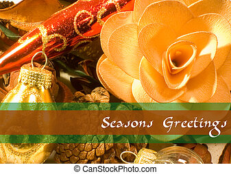 Christmas Potpourri 9 - Greeting with potpourri and...