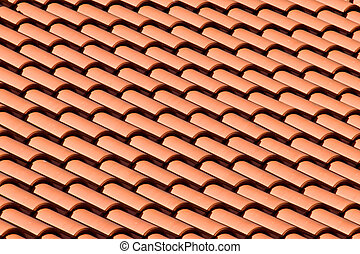 Tiled Roof Top Pattern