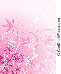 Floral background - Abstract floral design