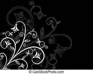 Floral design - Abstract floral design