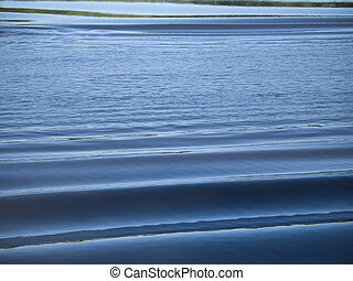 Rolling Water - A water background shot of some rolling...