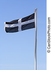 Cornish Flag - The flag of St Piran