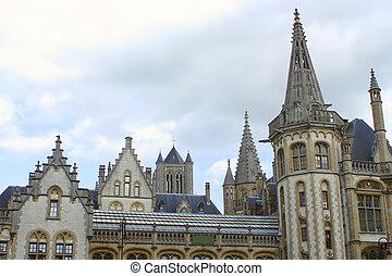Ghent steeples
