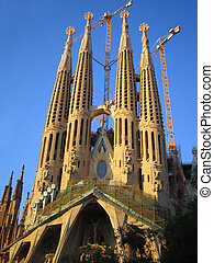 familia sagrada in Barcelona, Spain