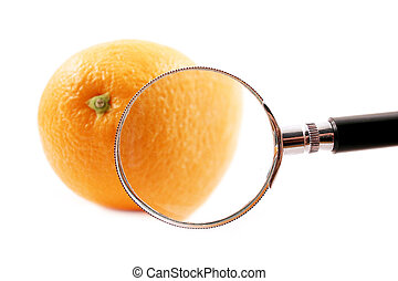 Magnifying Orange