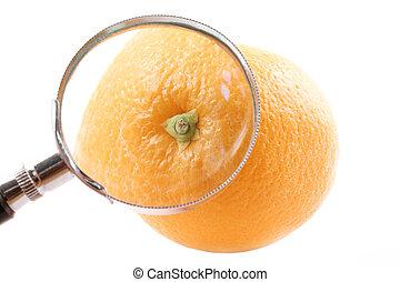 Magnifying Orange