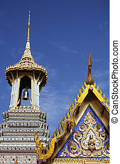 Thai Temple - Wat Phra Keow in Bangkok